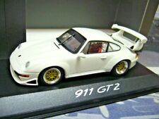 PORSCHE 911 GT2 Evo 993 white weiss Plain body 1995 PMA 1/1000 Minichamps  1:43