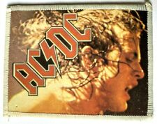 More details for ac/dc - angus young - old original vintage 1980`s photo card patch