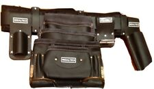 """Leather Riggers Nail Bag Tool Belt Pouch apron oil tanned top grade 30"""" - 38"""""""