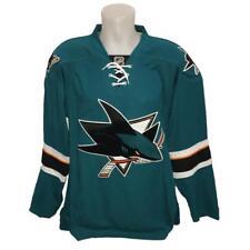 New NHL Reebok Authentic Edge San Jose Sharks Hockey Jersey Size 52 Green