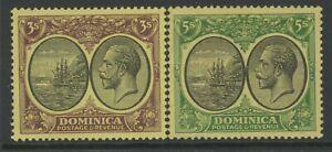 DOMINICA, MINT, #83-4, OG LH, WMK 3, CLEAN, SOUND & CENTERED