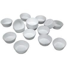 """Muffins-Papierbackförmchen """"WEISS"""" maxi - 50 Stück"""