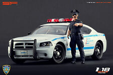 1/18 NY Police officer figure VERY RARE !!! for 1:18 Autoart Ford Chrysler