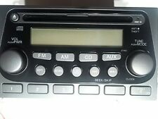 Code: 121322003 2004 2005 2006 Honda Element Radio Receiver CD Player  OEM