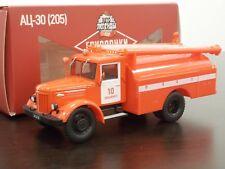 1:43 AC-30(205) MAZ-205 Fire Engine - Pompiers - DeAgostini Autolegends Trucks