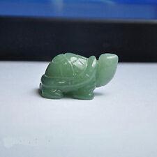 natural Green Aventurine Lucky Tortoise Feng Shui statue