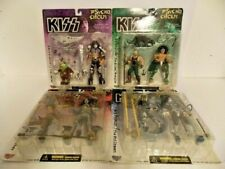 KISS Psycho Circus Set of 4 Action Figures Gene Paul Ace Peter McFarlane Sealed