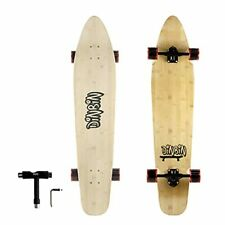 New listing 42 Inch Complete Cruiser Longboard Skateboards | Bamboo and Hard Maple red