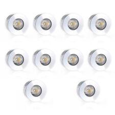 10 MR11 GU4 3W LED Bulb Lamp Spotlight 3000K 180LM Home Office