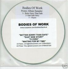 (429Q) Bodies of Work, Better Sorry Than Safe - DJ CD