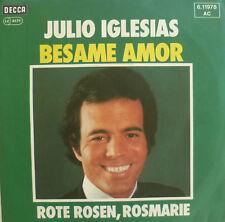 "7"" 1976 RARE SUNG GERMAN ! JULIO IGLESIAS : Besame Amor"