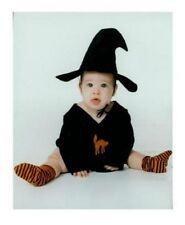 SPOOKEY LIL WITCH Infant Halloween Costume - Size 0-6 Mo - 100% Cotton - NEW
