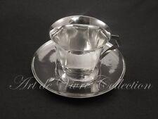 Christofle SUE & MARE Tasse et Sous Tasse à Café, Teacup & Saucer ART DECO 1927