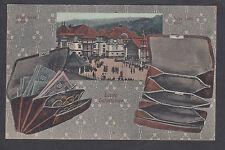 Austria Sc 113 on 1916 Banknote PPC to Czechoslovalkia