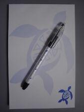 Hawaiian Stationary Set Large Notepad Pen honu blue