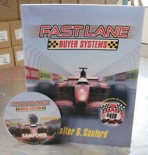 Fast Lane Buyer Systems Walter Sanford Real Estate Book and CD, Teach your team!