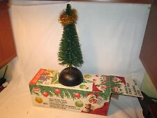 """Moodle Power 12"""" Musical Lighted Christmas Tree Ideal for Train Layouts MIB"""