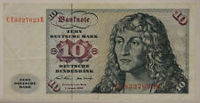 GERMANIA GERMANY Zehn 10 DEUTSCHE MARK 2/1/1970 #B203