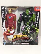 Marvel Titan Hero SpiderMan Maximum Venom 12� Iron Man vs Venomized Hulk