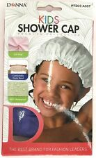 Donna Kids Premium Collection Shower Cap 100% Waterproof Purple Soft Vinyl New
