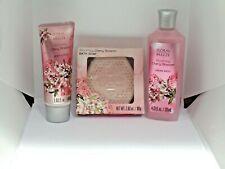 Set Of 3 Floral Breeze Set Bath Cream,Bath Soap & Body Lotion