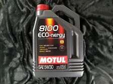 MOTUL 8100 Eco-nergy 5w30 Fully Synthetic Engine Oil 5 Litres 5l Screenwash Tab