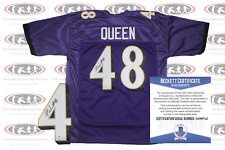 Patrick Queen Signed Purple Baltimore Style Jersey Beckett Witnessed
