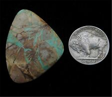 Royal Blue Laced Ribbon Natural Turquoise Cabochon from the Royston Dist.