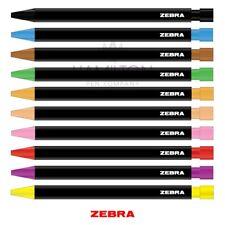 Zebra zensations 2 Mm Mecánico Lápiz-Caja de 10 Colores Surtidos