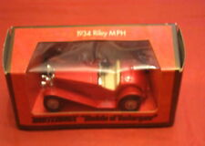 Matchbox Y-3 1934 Riley MPH models of yesteryear London England made 1973 1:35