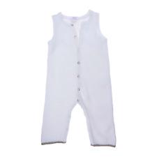 Jacadi combinaison coton blanc  garçon 1 an
