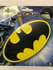 DC Comics Batman Logo Die Cast Metal Tow Hitch Plug Cover for Truck/SUV NEW.