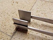 "8"" Tweezer Masher Bead Press Stainless Steel Hot Glass Lampworking Supplies"