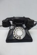 ART DECO BLACK BAKELITE PMG 35 PYRAMID TELEPHONE