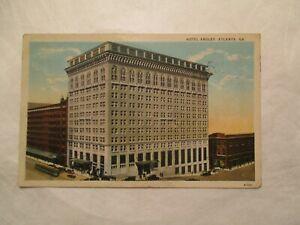 Hotel Ansley Atlanta Georgia GA Postcard