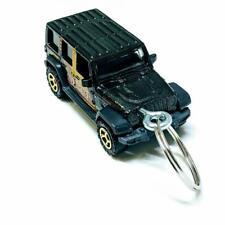 2018 Matchbox Black Skyjacker Suspensions Jeep JL 4dr 1:64 Diecast Keychain Gift
