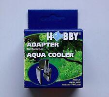 Adapter für Aqua Cooler von Hobby bis 22mm Scheiben für Aquarienkühler Lüfter