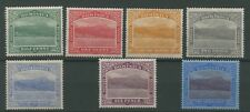 Dominica 1921-22 SG 62-69 ex 70. Mounted Mint