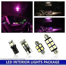 PINK LED Interior Lights Accessories Replacement for 2014-2018 Honda Fit 8 Bulbs