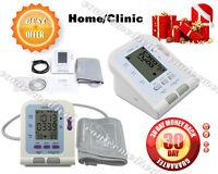 FDA CE Digital Upper Arm blood pressure Monitor LCD+ Adult BP cuff+ PC Software