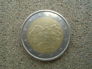 MONNAIE EURO 2 DROIT DE L HOMME FINLANDE 2008