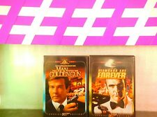Lot The Man with the Golden Gun / Diamonds Are Forever ( DVD,