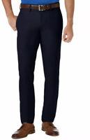Haggar Cool 18 Pro Slim Fit Flat Front Men's Pants MSRP $70