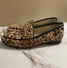 Sam Edelman Lior leopard Print Size 6 loafers Flats women's