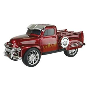 QFX(R) BT-1953RED QFX Chevy On the Go Light and Sound Bluetooth Speaker (Red)