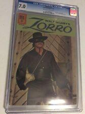 Zorro #15 CGC 7.0 Dell Photo Cover 1961 Silver Age
