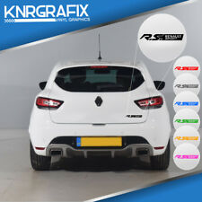 KNR0217 - RS RENAULT SPORT STICKER DECAL - RENAULT SPORT CLIO Mk4 IV RS 200 220