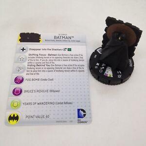 Heroclix World's Finest set Batman #003 Common figure w/card!