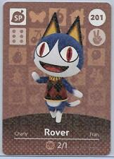 201 Rover Animal Crossing amiibo card US version mint condition in toploader