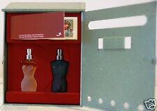 coffret Miniature parfum JEAN PAUL GAULTIER Boite aux Lettres flacon verre JPG